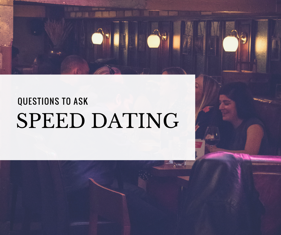 20 speed dating questions